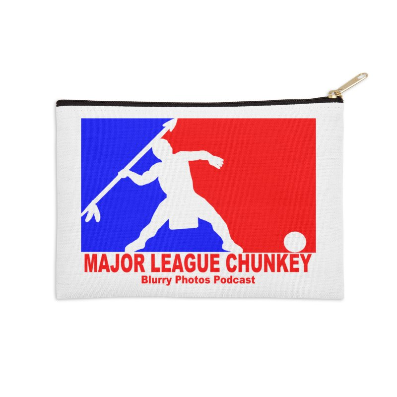 MLC Logo Accessories Zip Pouch by Blurry Photos's Artist Shop