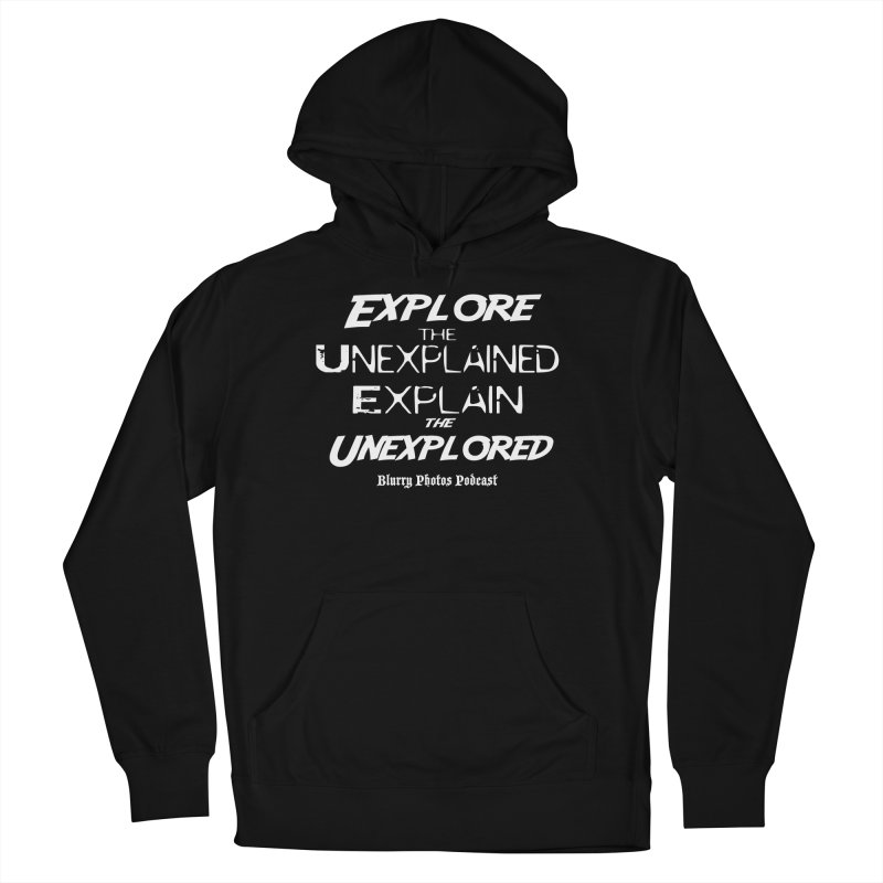 Explore/Explain Women's French Terry Pullover Hoody by Blurry Photos's Artist Shop
