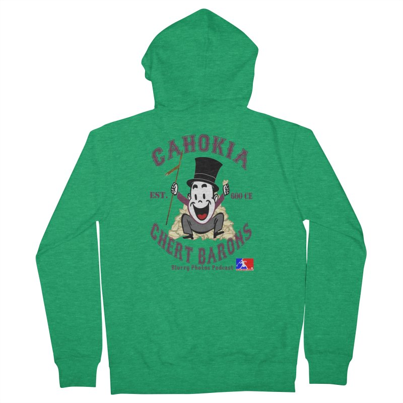 Cahokia Chert Barons Women's Zip-Up Hoody by Blurry Photos's Artist Shop