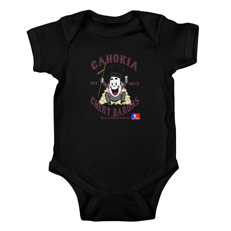 Cahokia Chert Barons Kids Baby Bodysuit by Blurry Photos's Artist Shop