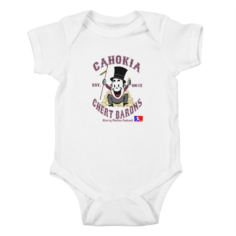 Cahokia Chert Barons Kids Baby Bodysuit by Blurry Photos's Artist Shop