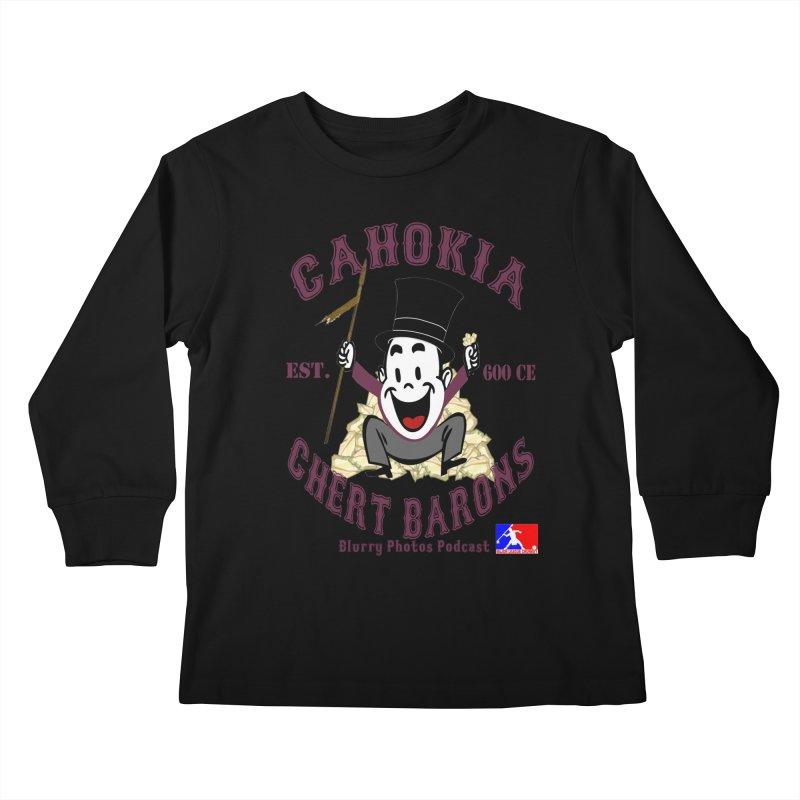 Cahokia Chert Barons Kids Longsleeve T-Shirt by Blurry Photos's Artist Shop