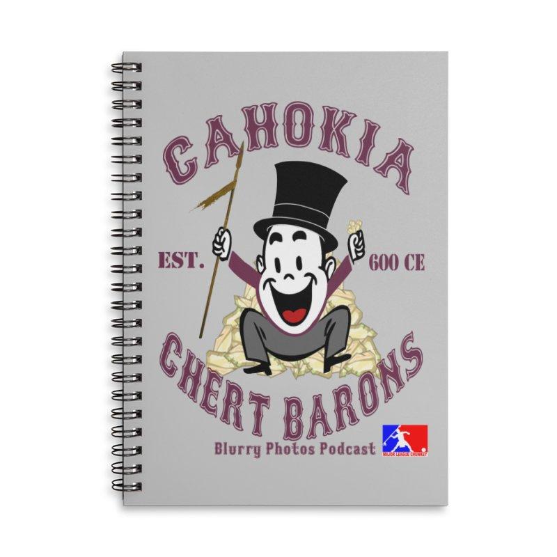 Cahokia Chert Barons Accessories Notebook by Blurry Photos's Artist Shop