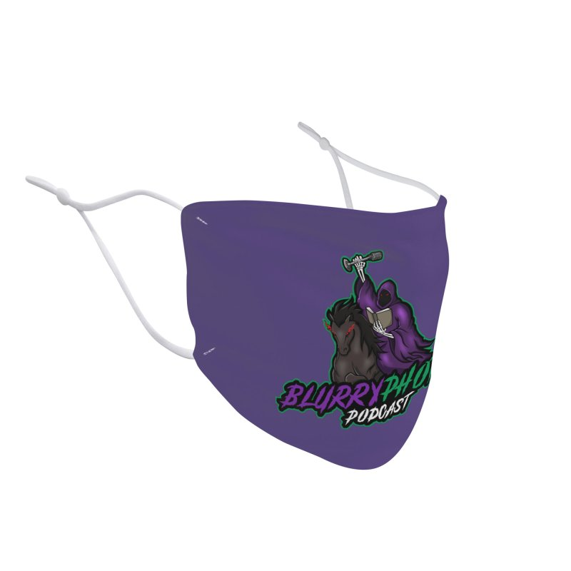 Horseman Logo Accessories Face Mask by Blurry Photos's Artist Shop