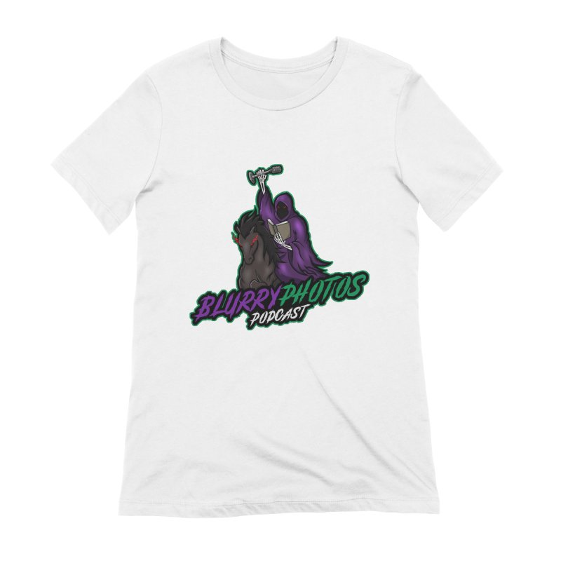 Horseman Logo Women's Extra Soft T-Shirt by Blurry Photos's Artist Shop