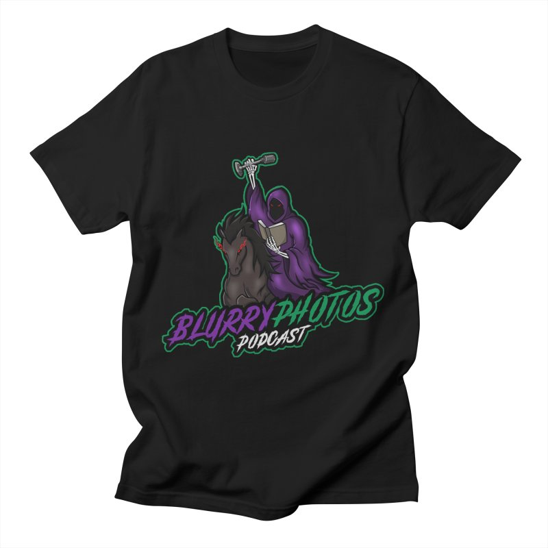 Horseman Logo Men's T-Shirt by Blurry Photos's Artist Shop