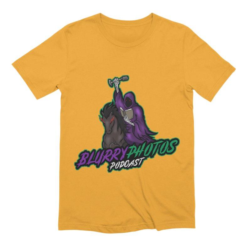 Horseman Logo Men's Extra Soft T-Shirt by Blurry Photos's Artist Shop