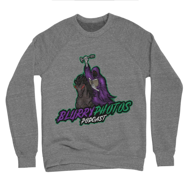 Horseman Logo Men's Sponge Fleece Sweatshirt by Blurry Photos's Artist Shop