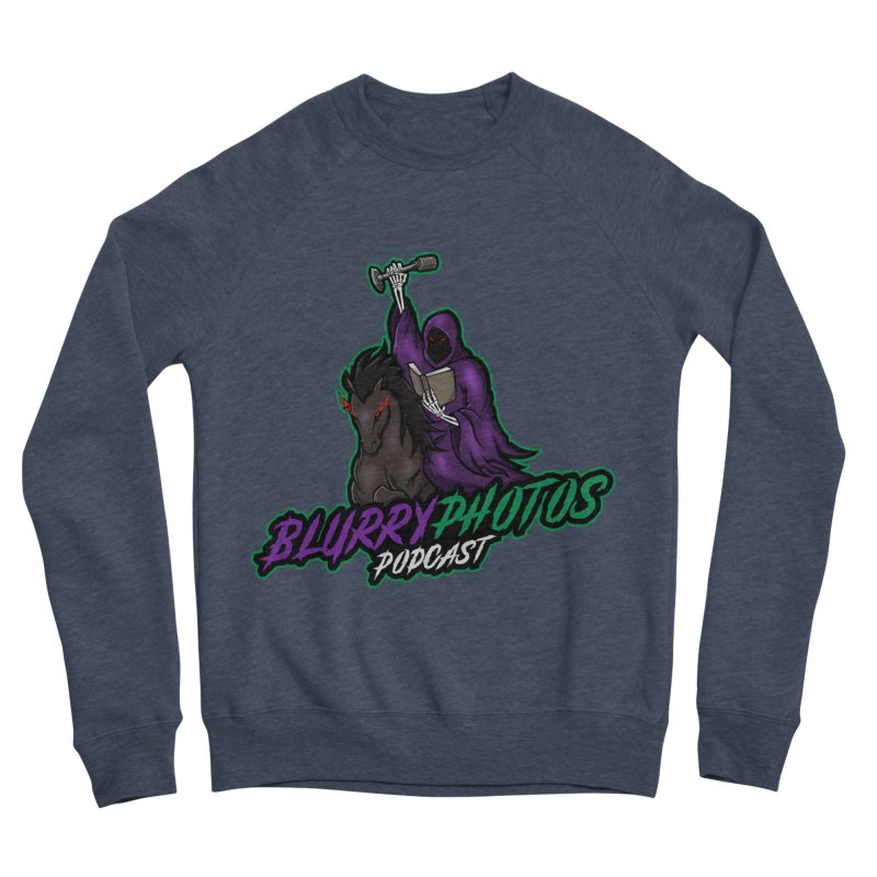 Horseman Logo Women's Sponge Fleece Sweatshirt by Blurry Photos's Artist Shop