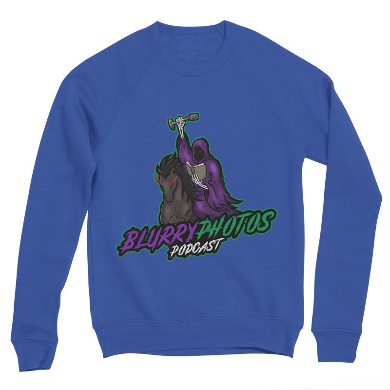 Horseman Logo Men's Sweatshirt by Blurry Photos's Artist Shop