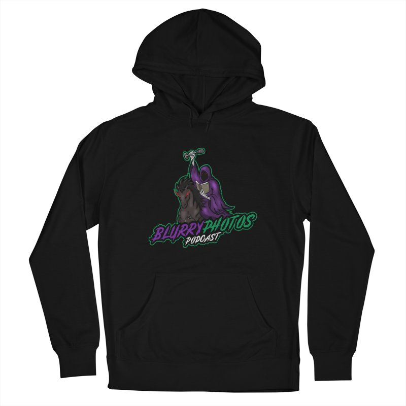 Horseman Logo Men's Pullover Hoody by Blurry Photos's Artist Shop