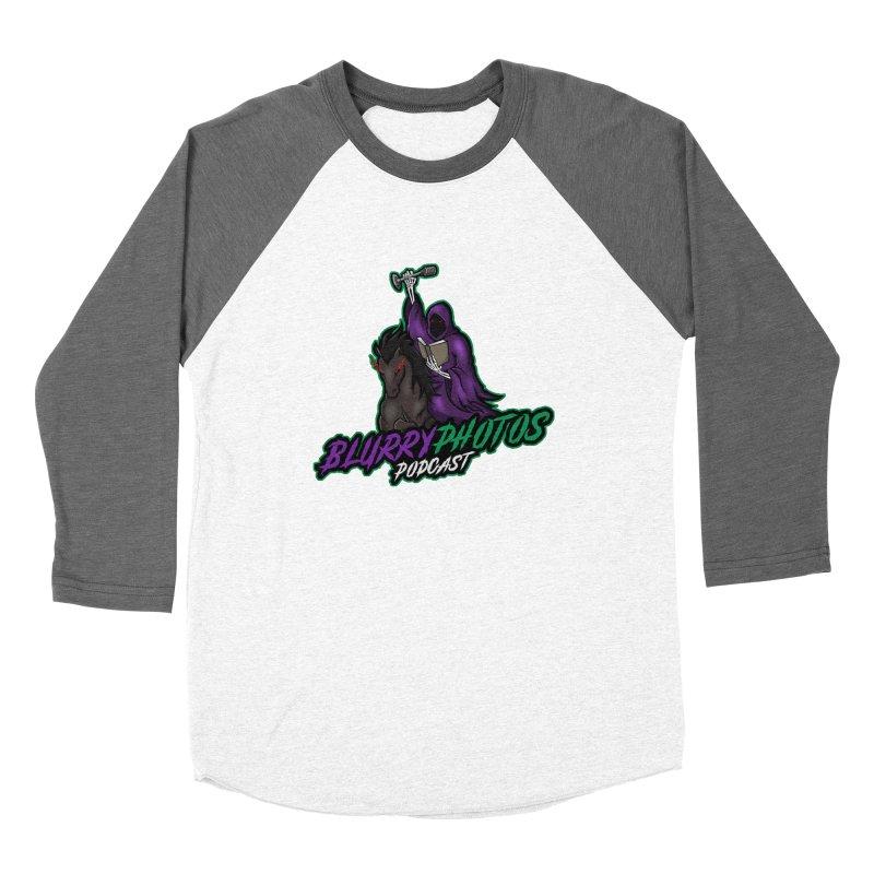 Horseman Logo Women's Baseball Triblend Longsleeve T-Shirt by Blurry Photos's Artist Shop
