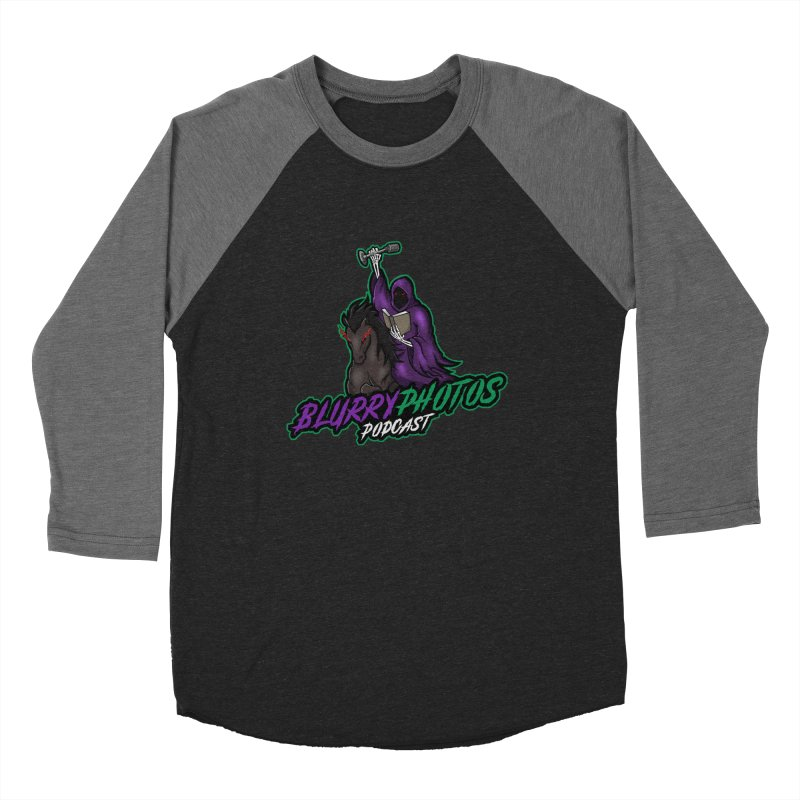 Horseman Logo Men's Baseball Triblend Longsleeve T-Shirt by Blurry Photos's Artist Shop