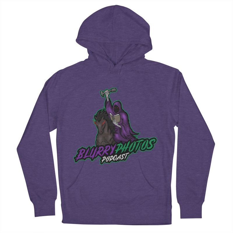 Horseman Logo Women's French Terry Pullover Hoody by Blurry Photos's Artist Shop