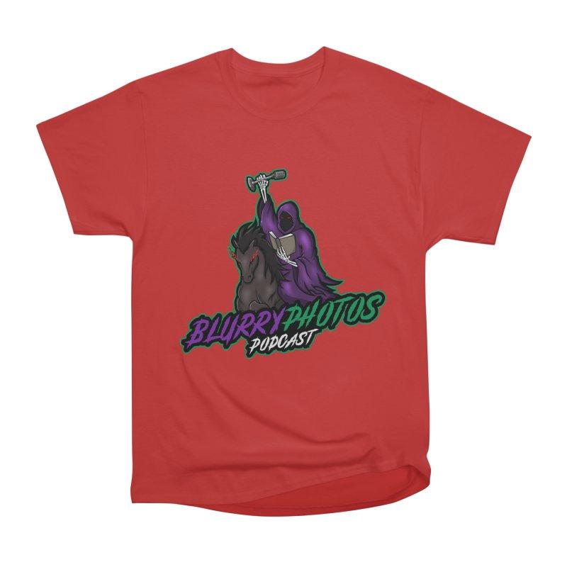 Horseman Logo Women's Heavyweight Unisex T-Shirt by Blurry Photos's Artist Shop