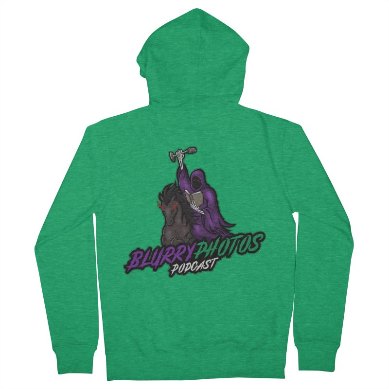 Horseman Logo Women's Zip-Up Hoody by Blurry Photos's Artist Shop