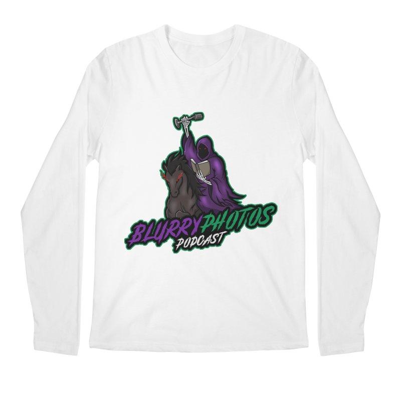 Horseman Logo Men's Regular Longsleeve T-Shirt by Blurry Photos's Artist Shop