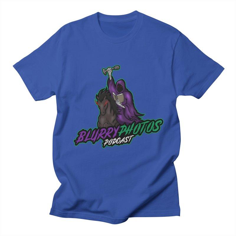 Horseman Logo Men's Regular T-Shirt by Blurry Photos's Artist Shop