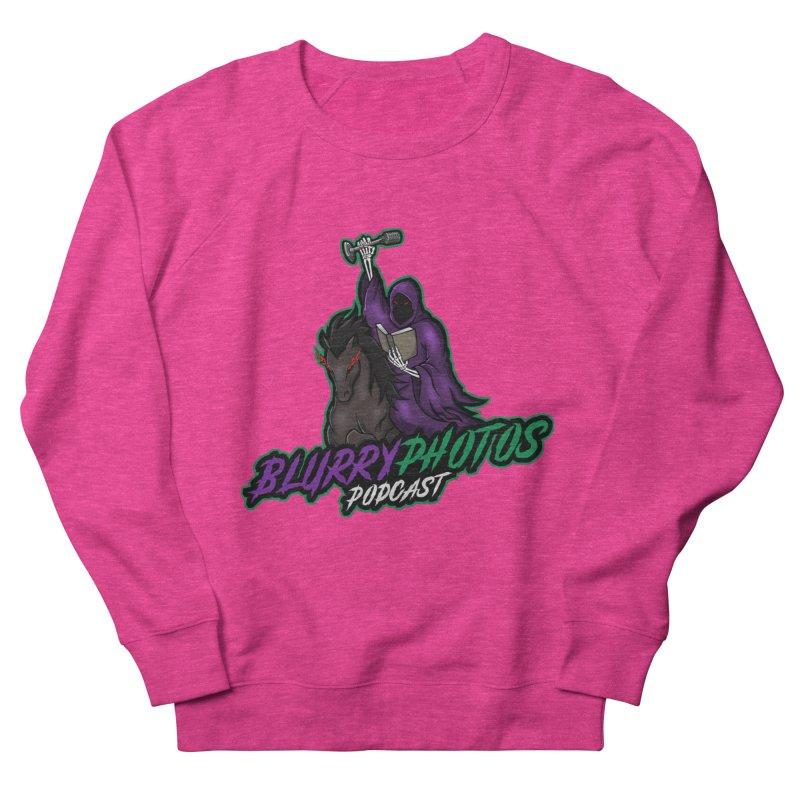 Horseman Logo Women's French Terry Sweatshirt by Blurry Photos's Artist Shop