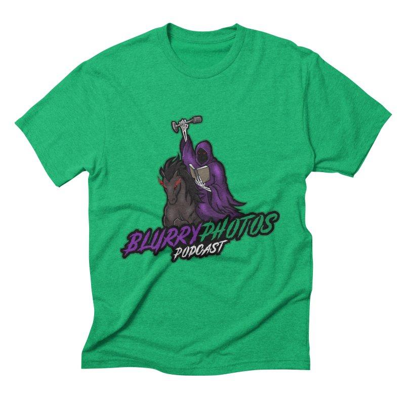 Horseman Logo Men's Triblend T-Shirt by Blurry Photos's Artist Shop