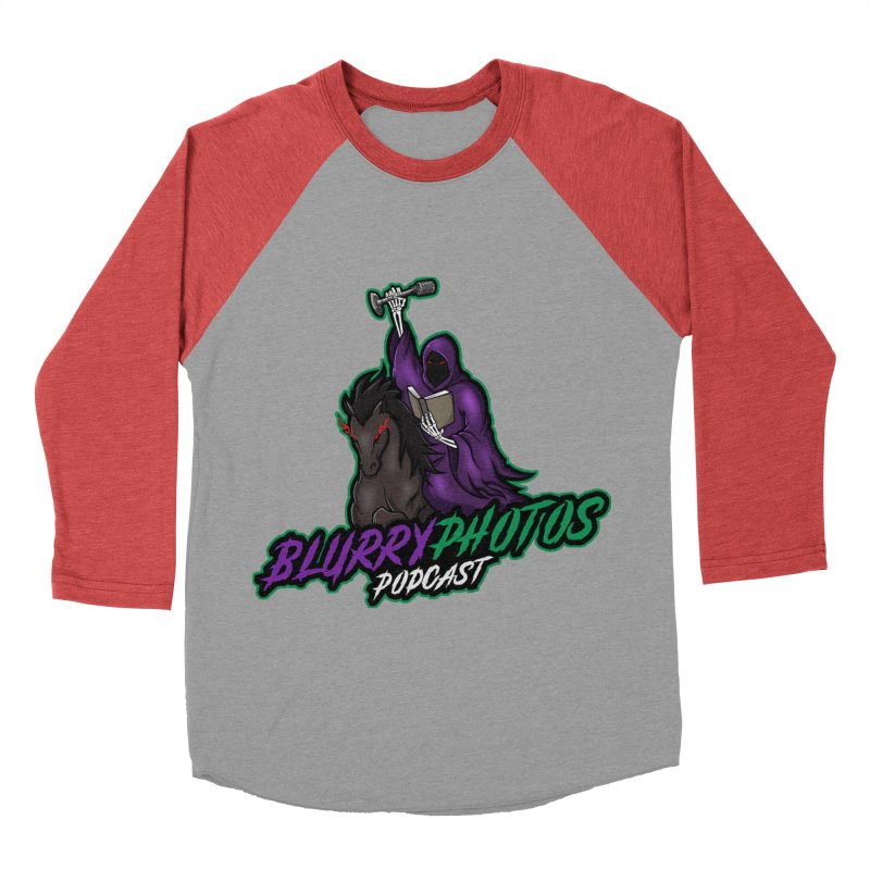 Horseman Logo Women's Baseball Triblend Longsleeve T-Shirt by Blurry Photos's Artist Shop