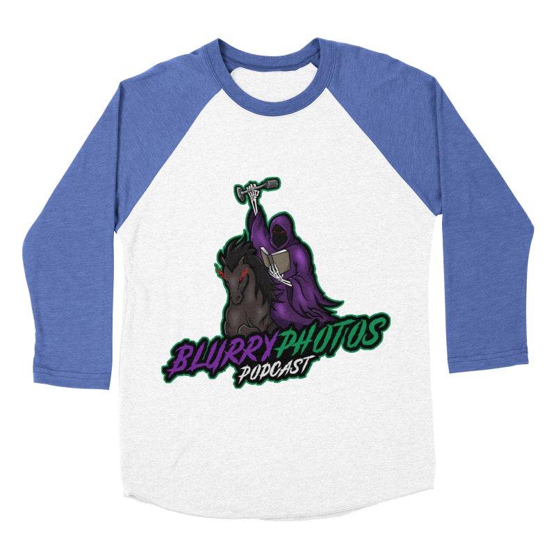 Horseman Logo Men's Baseball Triblend Longsleeve T-Shirt by Blurry Photos's Artist Shop