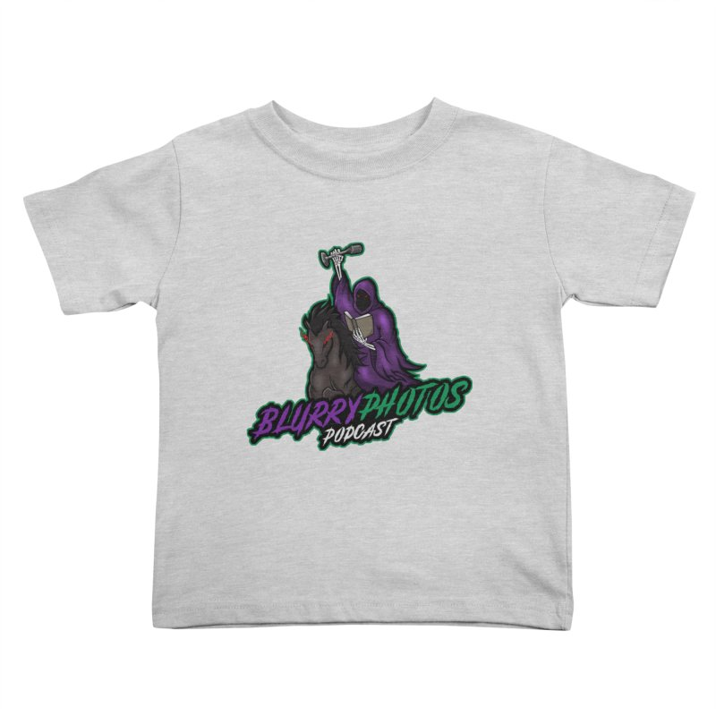 Horseman Logo Kids Toddler T-Shirt by Blurry Photos's Artist Shop