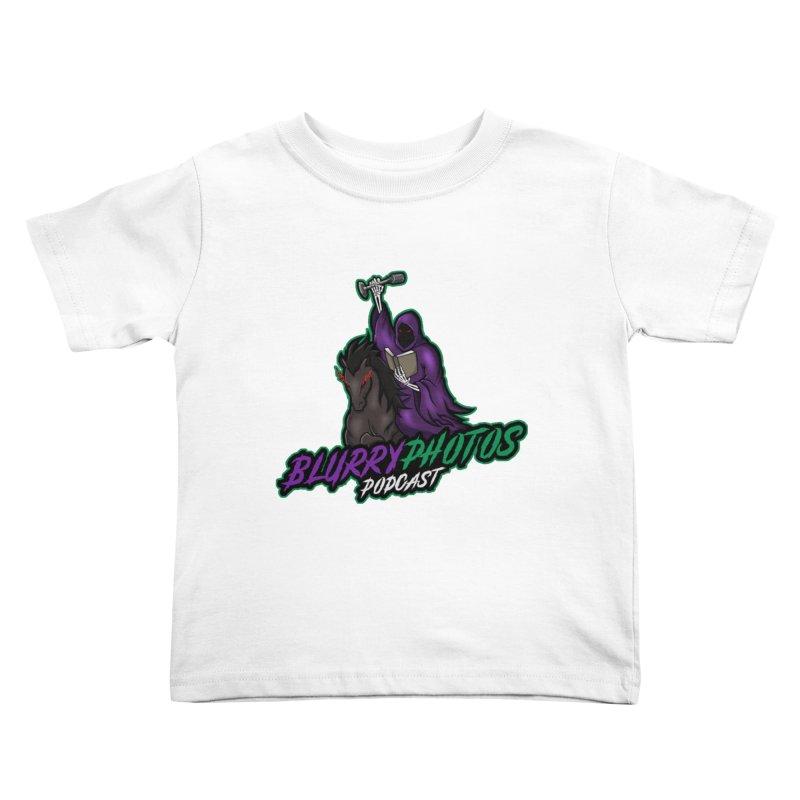 Horseman Logo Kids Toddler T-Shirt by Blurry Photos's Artist Shop