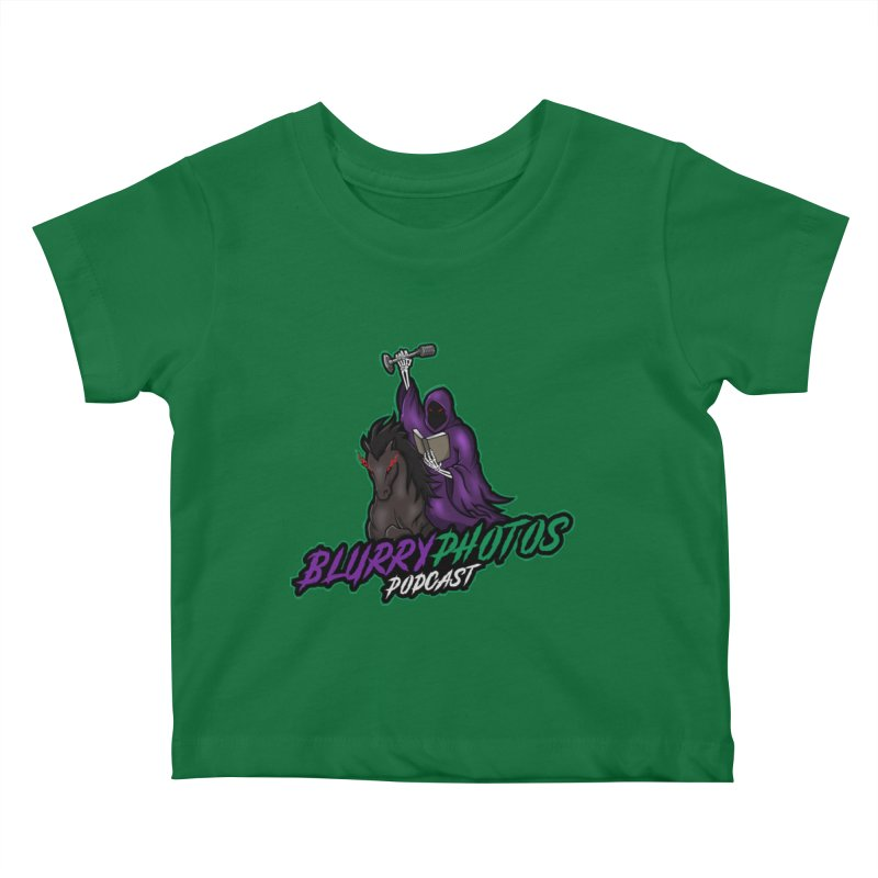 Horseman Logo Kids Baby T-Shirt by Blurry Photos's Artist Shop