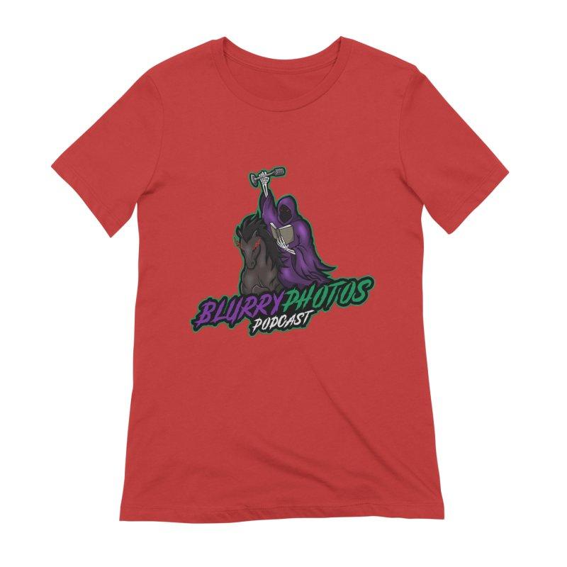 Horseman Logo Women's T-Shirt by Blurry Photos's Artist Shop