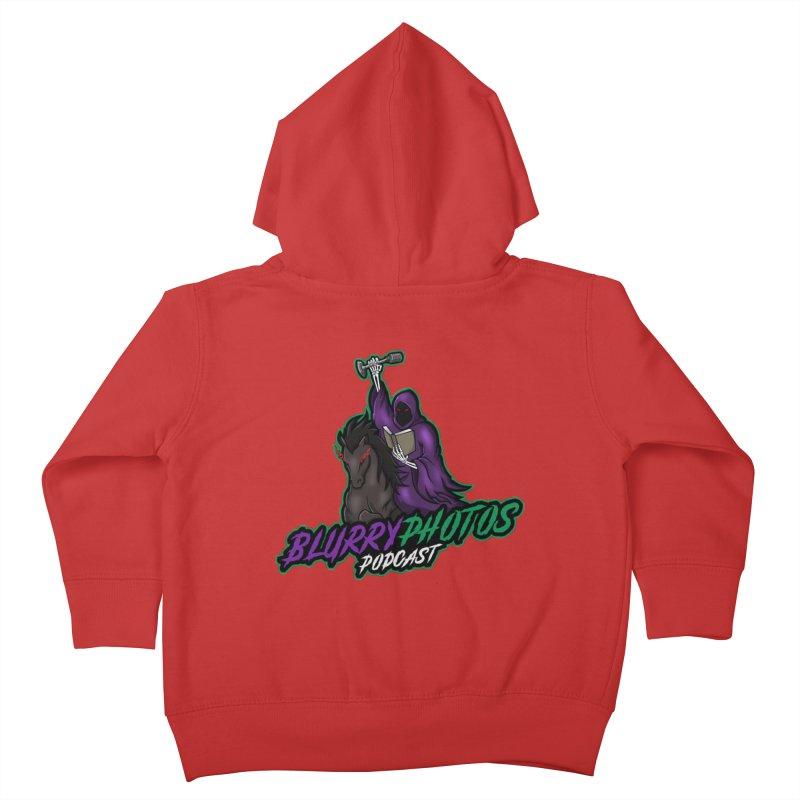 Horseman Logo Kids Toddler Zip-Up Hoody by Blurry Photos's Artist Shop