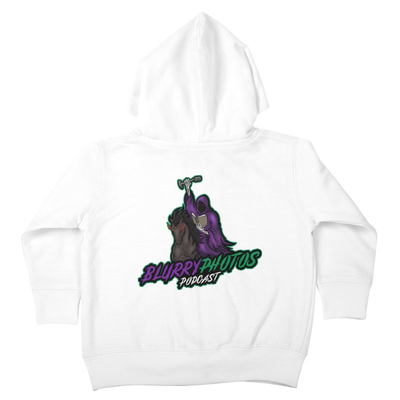Horseman Logo Kids Toddler Zip-Up Hoody by Blurry Photos's Artist Shop