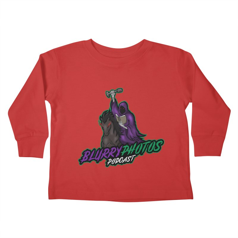 Horseman Logo Kids Toddler Longsleeve T-Shirt by Blurry Photos's Artist Shop