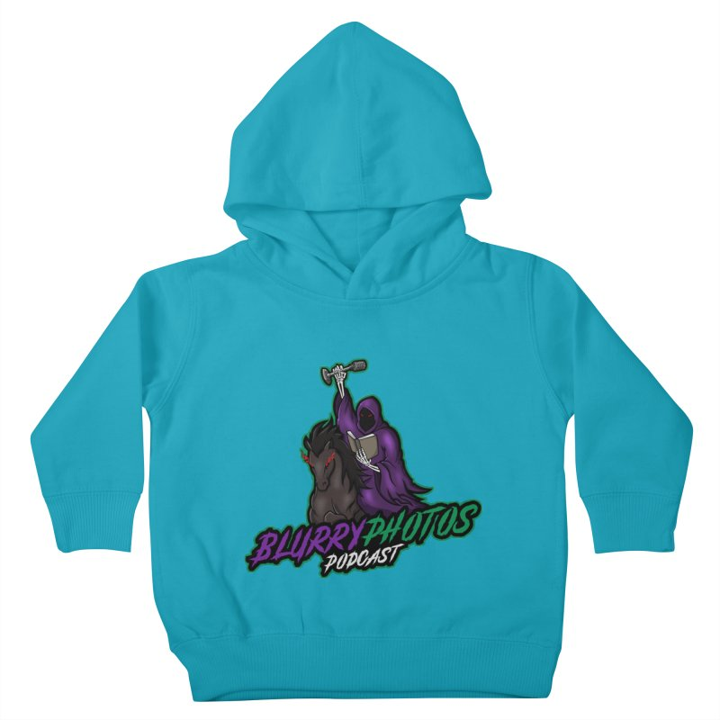 Horseman Logo Kids Toddler Pullover Hoody by Blurry Photos's Artist Shop