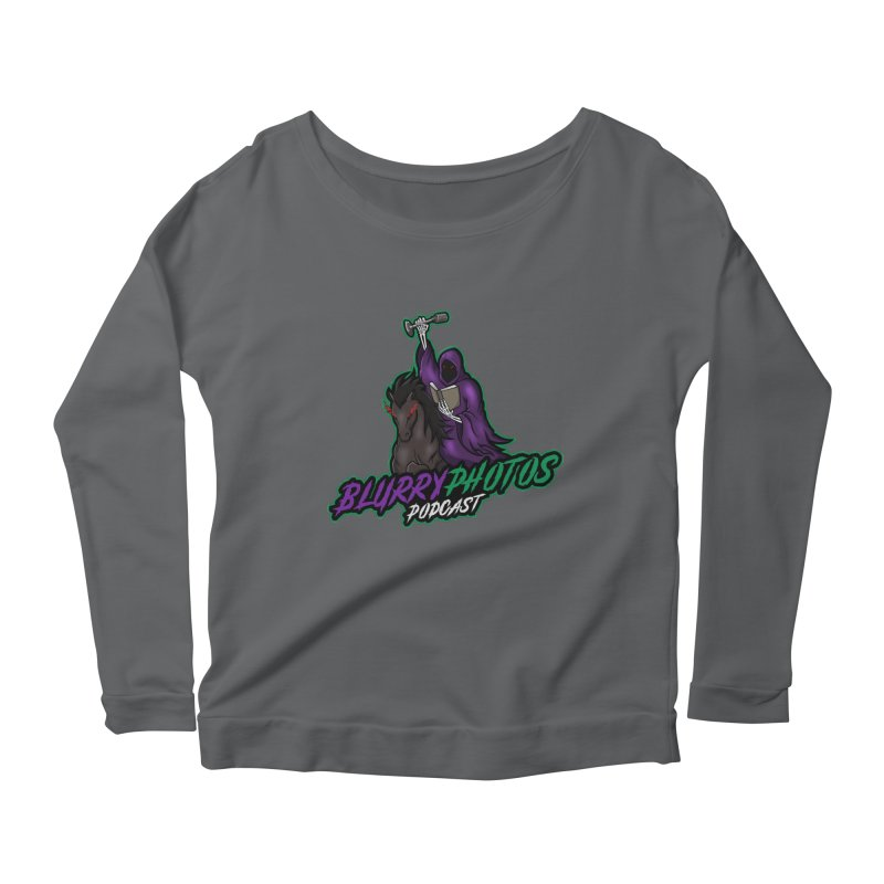 Horseman Logo Women's Longsleeve T-Shirt by Blurry Photos's Artist Shop