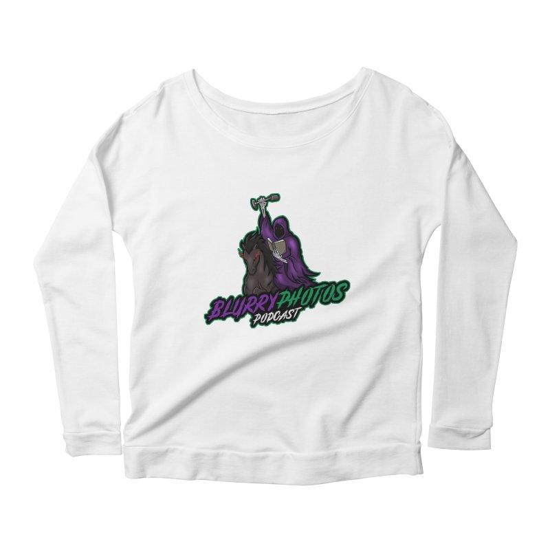 Horseman Logo Women's Scoop Neck Longsleeve T-Shirt by Blurry Photos's Artist Shop