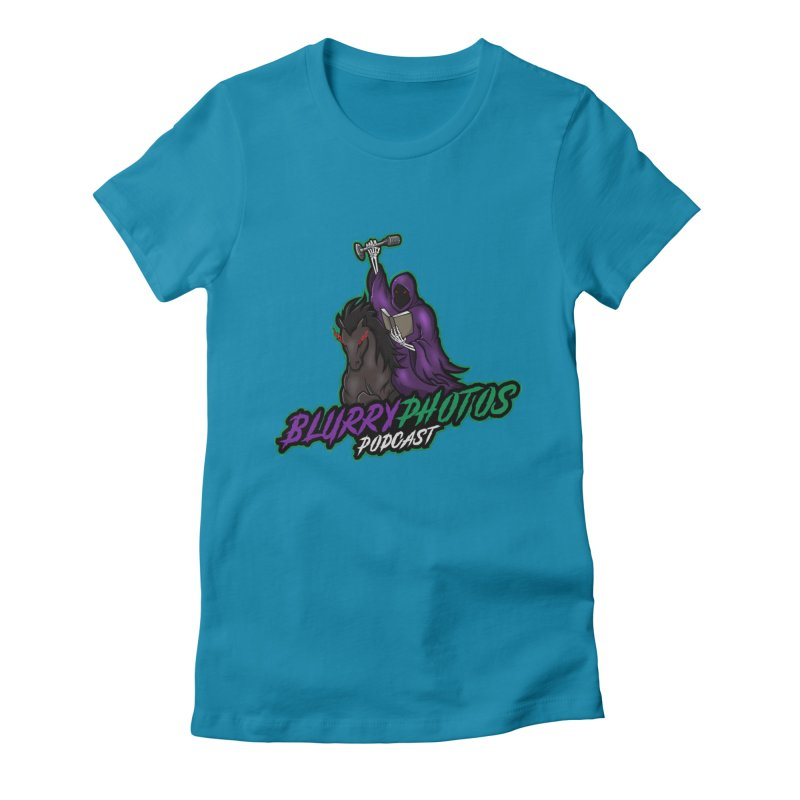 Horseman Logo Women's T-Shirt by Blurry Photos's Artist Shop