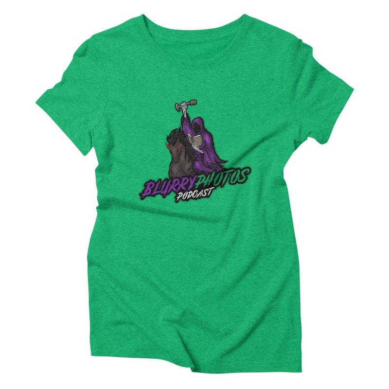 Horseman Logo Women's Triblend T-Shirt by Blurry Photos's Artist Shop