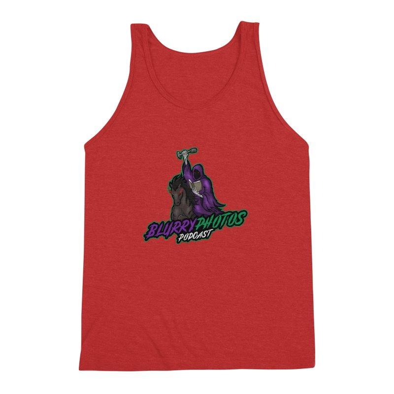 Horseman Logo Men's Triblend Tank by Blurry Photos's Artist Shop