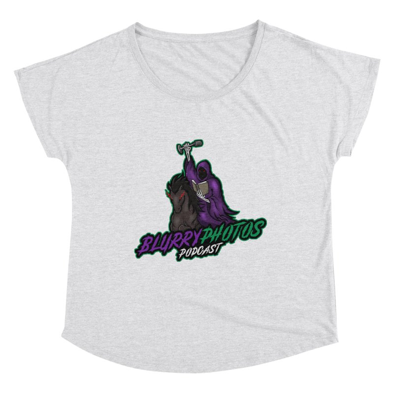 Horseman Logo Women's Scoop Neck by Blurry Photos's Artist Shop