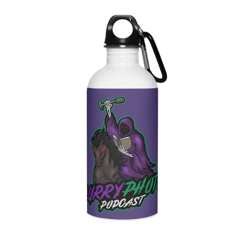 Horseman Logo Accessories Water Bottle by Blurry Photos's Artist Shop