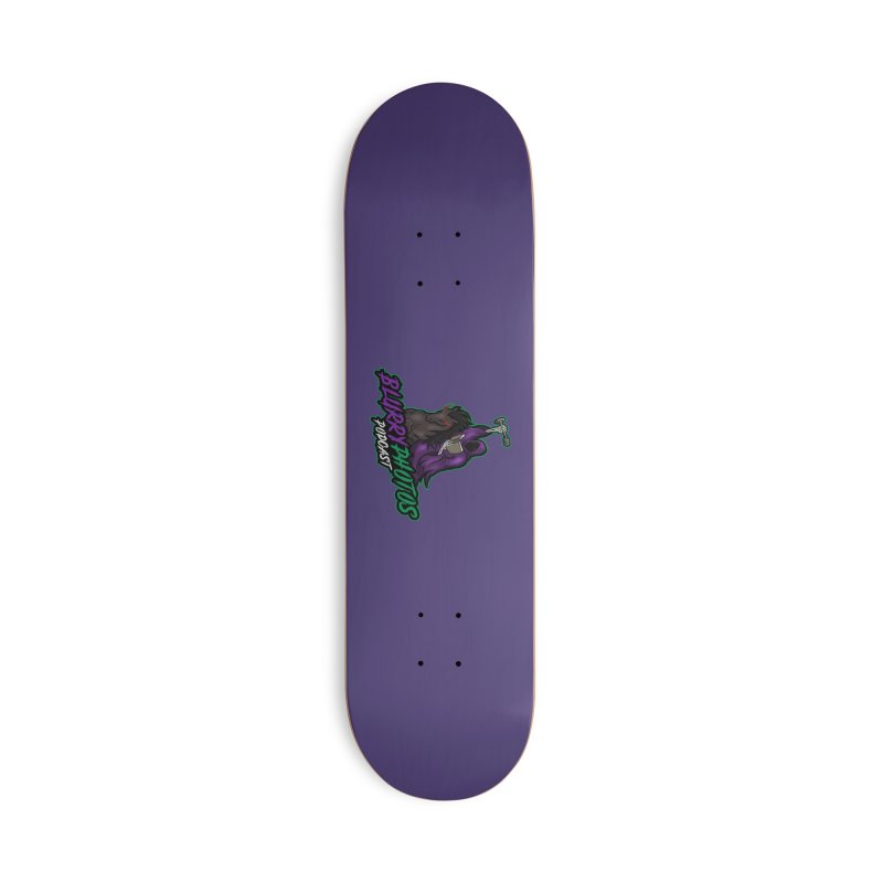 Horseman Logo Accessories Deck Only Skateboard by Blurry Photos's Artist Shop