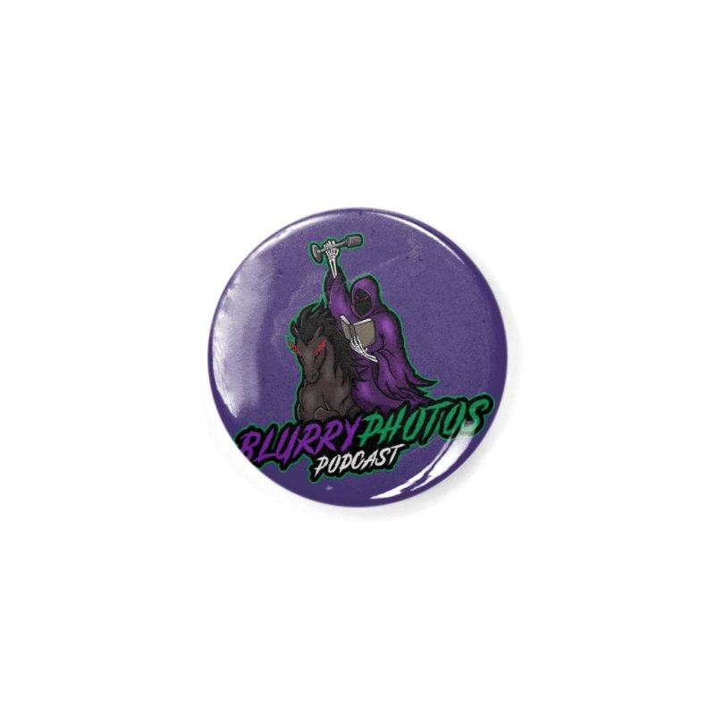 Horseman Logo Accessories Button by Blurry Photos's Artist Shop
