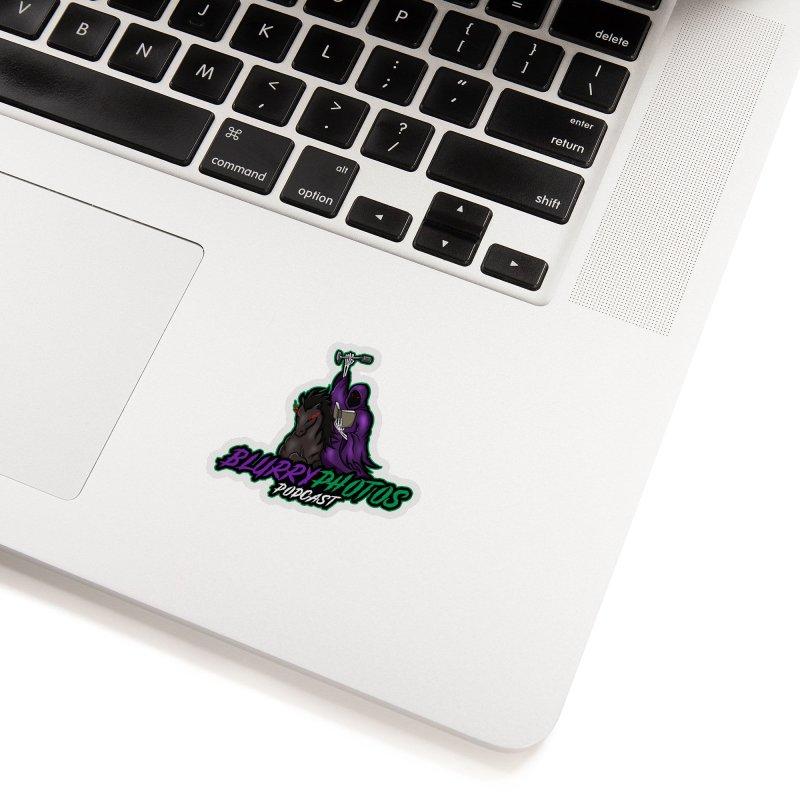 Horseman Logo Accessories Sticker by Blurry Photos's Artist Shop