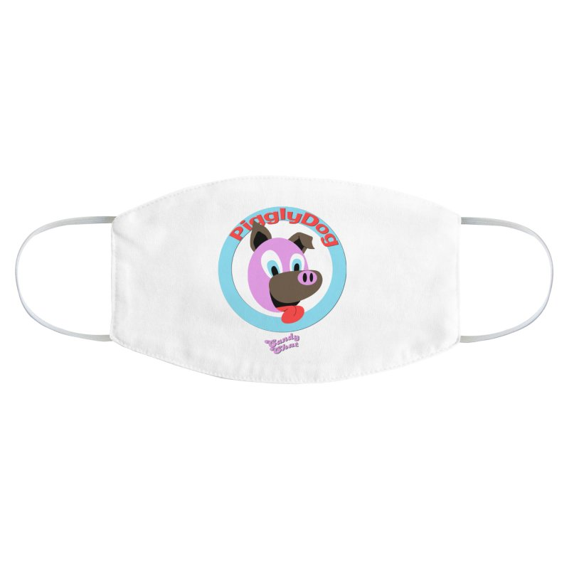 Piggly Dog Accessories Face Mask by Blurry Photos's Artist Shop