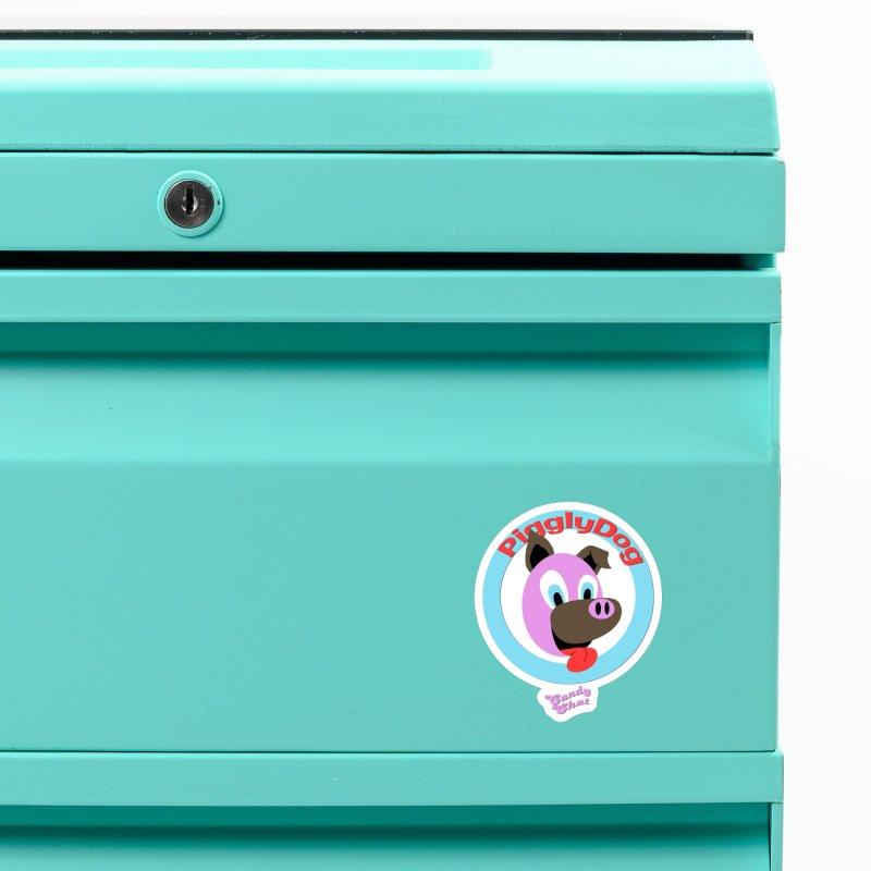Piggly Dog Accessories Magnet by Blurry Photos's Artist Shop