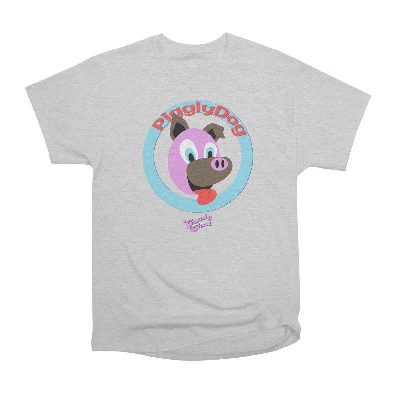 Piggly Dog Men's T-Shirt by Blurry Photos's Artist Shop