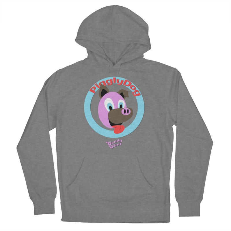 Piggly Dog Women's French Terry Pullover Hoody by Blurry Photos's Artist Shop