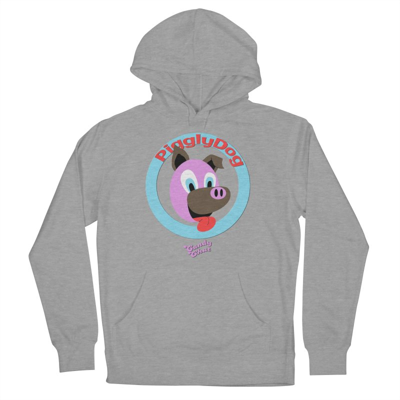 Piggly Dog Men's French Terry Pullover Hoody by Blurry Photos's Artist Shop