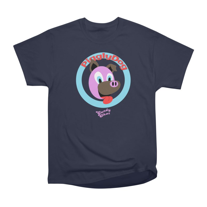 Piggly Dog Women's Heavyweight Unisex T-Shirt by Blurry Photos's Artist Shop